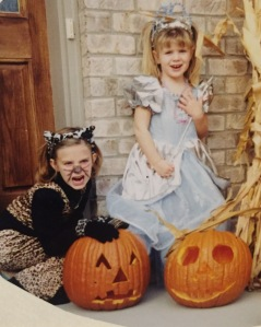 My obsession with anything feline began way back before my parents could do anything to help.